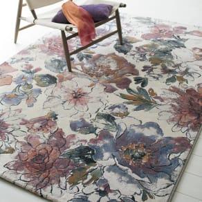 約160×230cm(ベルギー製ウィルトン織りラグ〈フィデリオ〉) 写真