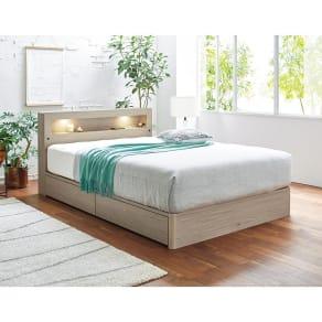 シングル幅98cm 6.5インチピロートップ(SIMMONS/シモンズ 収納付きLEDベッド) 写真