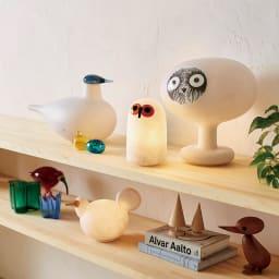 マジス/イッタラ バードライト シーリー LINNUT/リンナット[MAGIS・マジス iittala・イッタラ/デザイン:オイバ・トイッカ] イタリア・マジス社とフィンランドのイッタラ社のコラボレーションで生まれた、表情豊かなインテリアライト達。オブジェのような佇まいと柔らかい光がお部屋を彩ります。
