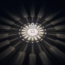 Battery/バッテリー 充電式テーブルランプ・テーブルライト [Kartell・カルテル/デザイン:フェルーチェ・ラヴィアーニ] クリスタル