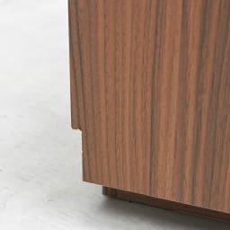 AlusStyle/アルススタイル リビングシリーズ ハイタイプテレビ台 幅80.5cm 背面は幅木カット仕様で壁にぴったり設置可能です。