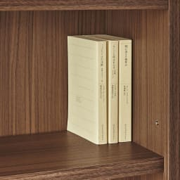 AlusStyle/アルススタイル シェルフシリーズ 上台:オープン&下台:扉 幅60cm高さ192cm 上段収納部は単行本やコミックが収納できる奥行21cm。