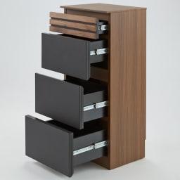 AlusStyle/アルススタイル カウンター下収納庫 チェスト 幅40cm高さ84.5cm コンパクトでも充実の収納ボリュームでキッチンもあっという間にすっきり。