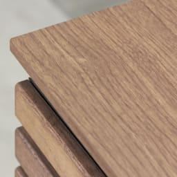 AlusStyle/アルススタイル カウンター下収納庫 3枚扉 幅120cm高さ84.5cm シックな木目と深い色合いのダークブラウンは、大人のキッチンインテリアに。