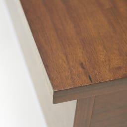 収納スペース付き リフトアップセンターテーブル [素材アップ]ウォルナット