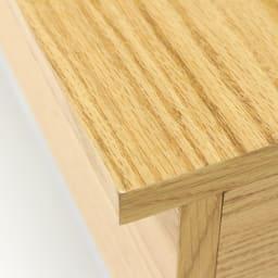 収納スペース付き リフトアップセンターテーブル [素材アップ]オーク