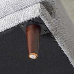 Gufalda/グゥファルダ ユーロデザインソファ 3人掛け 幅209cm 奥行95cm 高さ84cm 脚部の取り付けは付属の部品で行います。