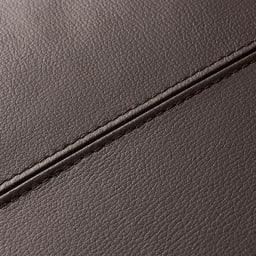 Divanol/ディバノール フロアソファ 右肘 縫製は丁寧に施されています。
