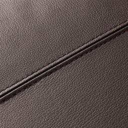 Divanol/ディバノール フロアソファ スツール 縫製は丁寧に施されています。