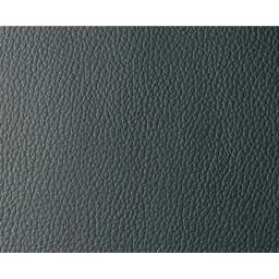 本革・レザーソファシリーズ トリプルソファ(3人掛け)・幅199cm 生地アップ:ブラック