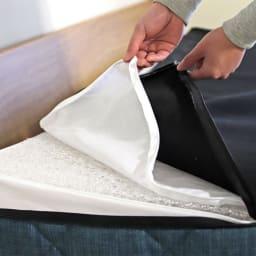 Licol/リコル ソファベッド 幅200 [国産] カバーは取り外して洗えます。