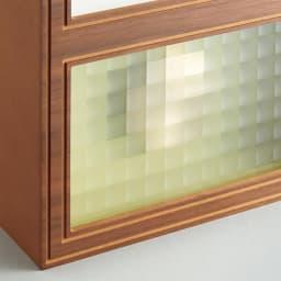 CHAMBRE/シャンブル 振り子時計 チェッカーガラスがレトロな雰囲気を醸し出します。