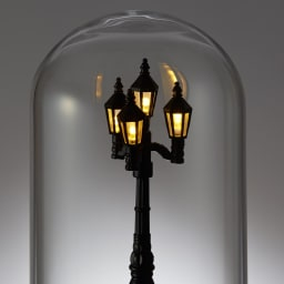 SELETTI/セレッティ マイリトルライト 【中】灯りは3段階に調光可能。