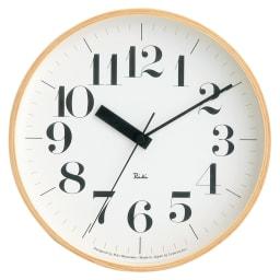 RIKI CLOCK/リキクロック 電波時計 径25.4cm[デザイン:渡辺力] セリフ対