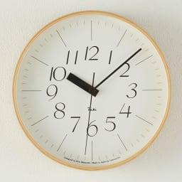 RIKI CLOCK/リキクロック 電波時計 径25.4cm[デザイン:渡辺力] サンセリフ体