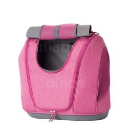 ミュナペットキャリーバッグ メッシュ窓も、バッグ上部に固定可能。