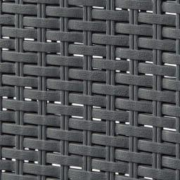 蓋付き 樹脂製 バスケット  50L ヨコ (ウ)グレー
