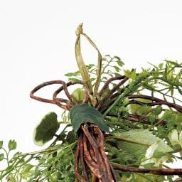 ピンで飾れる スリムグリーン お得な2個組 フック付きなので、押しピン等で気軽に飾れます。