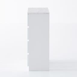 Marblenome/マーブルノーム サニタリーチェスト 幅60奥行45cm (ア)ホワイト 側面まで美しい化粧仕上げです