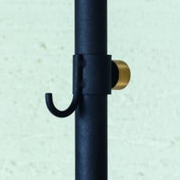DRAW A LINE/ドローアライン フック3個付き突っ張り棒