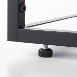 Noisette/ノワゼット アイアンコンソールテーブル 幅60cm高さ73.5cm 脚部のアジャスターで、水平を保てます