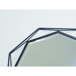 アイアンウォールミラーシリーズ 壁掛けミラー S幅50cm高さ50cm