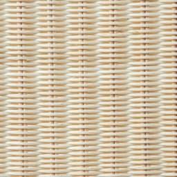 Spesso/スペッソ 折り畳みパーテーション 3連 高さ160cm (ウ)ホワイト ラタンをホワイトで着色。軽やかで明るい雰囲気を演出します。