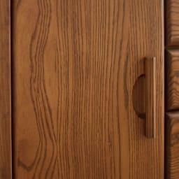 Kasvi/カスビイ コンパクト収納 スリムチェスト 幅34cm高さ78cm アッシュ材の際立つラフな木目が美しい仕上がり。