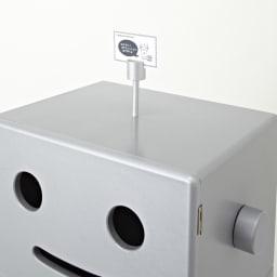 ROBIT/ロビット 収納ロボ[ete・えて ] メモはさみ付