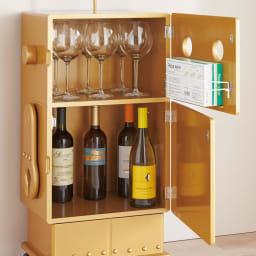 ROBIT/ロビット 収納ロボ 当店限定カラー[ete・えて ] ワインなど、お酒を収納する大人使いも。