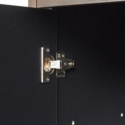 Grigia/グリージア 収納庫付きダイニングテーブル 幅150cm 収納部の扉部分