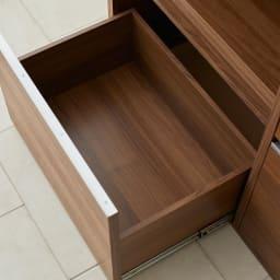 Mallory/マロリー ステンレストップ隠せる家電収納キッチンカウンター 幅120cm高さ92.5cm