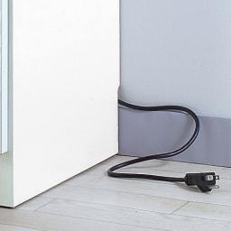 Anya/アーニャ キッチンすき間収納 ロータイプ(引き出し3段) 幅25cm奥行45cm高さ85cm 幅木よけ(9×1cm)が施されているので壁面ぴったり。