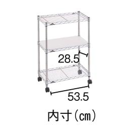 ERECTA/エレクター 人造大理石キッチンワゴン 幅60cm奥行35cm高さ84cm