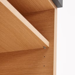 Boulder/ボルダー 石目調天板キッチンシリーズ カウンター 幅120cm 奥行45cm 棚板は3cmピッチで高さ調節できます。