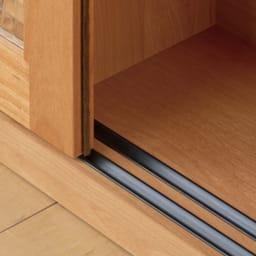 Pippi/ピッピ カウンター下収納庫 チェスト 幅45奥行23cm 【引き戸はレール式】少しの力でスムーズに開閉できます。