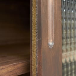Pippi/ピッピ カウンター下収納庫 引き戸 幅150奥行32cm 扉部分時はほこりの侵入を防ぐ防塵テープつき。