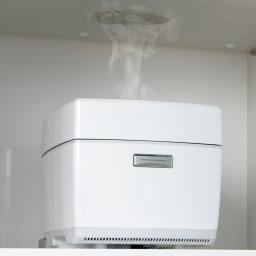 Maquina/マキナ ダストダイニングボード・キッチンボード 幅127cm モイスで湿気対策(※1) 家電収納部天井は調湿板・モイスを採用。