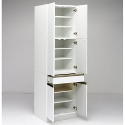 Maquina/マキナ カップボード・食器棚 幅60cm ホワイト