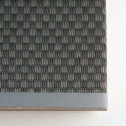 美草跳ね上げ式ユニット畳 畳単品 高さ33cm 半畳 [畳アップ] ブラック