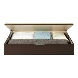 美草跳ね上げ式ユニット畳 お得なセット 高さ33cm 4.5畳セット 高さ33cmタイプは1畳分に布団やラグなどが収まります。(収納部内寸高さ25cm)