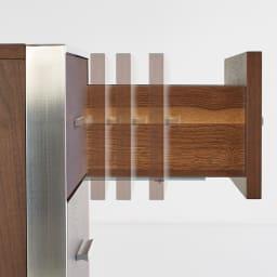 Glan Plus/グラン プラス デスクシリーズ キャビネットチェスト 幅40cm 引き出しは、吸い込まれるように静かに閉まる