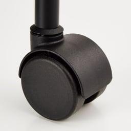 TROY/トロイ 4スター・キャスター付き キャスターまで本体になじむカラーに揃えたデザイン (イ)ブラック