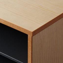 Kools/コールス 書類収納 A4 上品な木目が美しいスプルス材です。