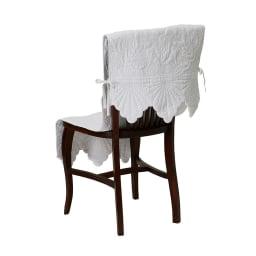 Rimma/リンマ 綿キルトカバー チェアカバー(1枚) 約50×150cm (ア)ホワイト
