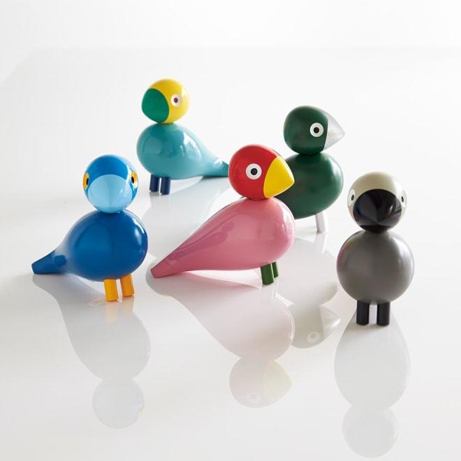 カイ・ボイスンデンマーク 木製オブジェ「ソングバード」 デンマークのデザイナー、カイ・ボイスンが1950年にデザインした幻の小鳥たちを復刻