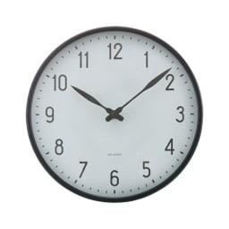 ARNE JACOBSEN/アルネヤコブセン 壁掛け時計 ステーション 径21cm
