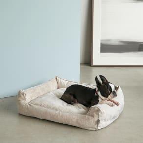 防水仕様のペット用ベッド M 写真