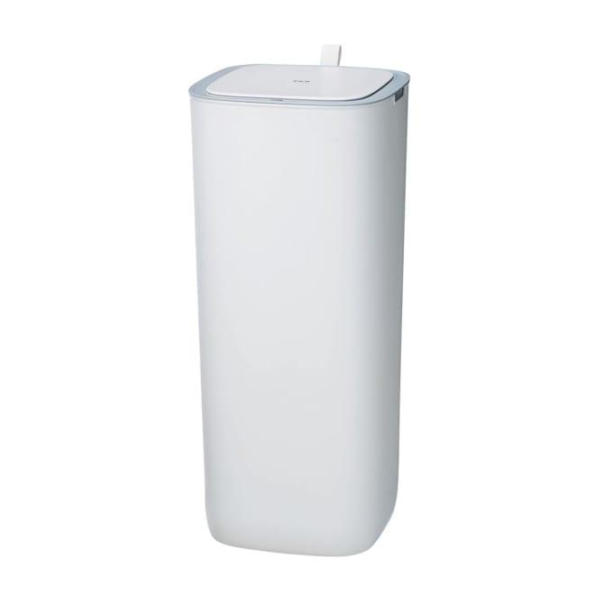 EKO モランディ センサーゴミ箱 30L 幅27cm 奥行27cm 高さ59cm/重量2.6kg (ア)ホワイト