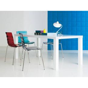 Multi マルチダイニングテーブル ウッドレッグタイプ 幅160cm 写真